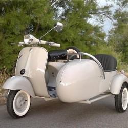 Vespa Sidecar Anno 1962