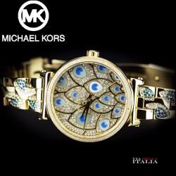【MICHAEL KORS】SOPHIE PAVE PEACOCK MK3945