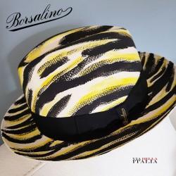 【Borsalino】パナマキートゼブラ