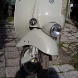 Vespa 125 Faro Basso del 1954