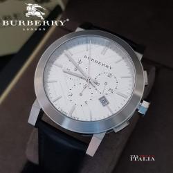 Burberry BU9355 The City Chronograph Silver Tone - 42mm