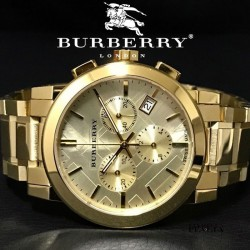 【BURBERRY】 バーバリー クロノグラフ BU9753 38mm