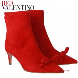 【RED V】SANDIE SUEDE LEATHER ANKLE BOOT