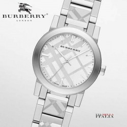 【BURBERRY】THE CITY シルバー BU9233 27mm
