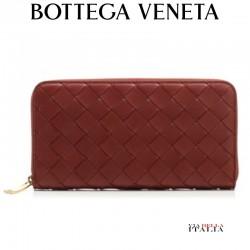 【BOTTEGA VENETA】 Zipper continental wallet