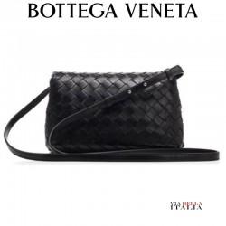 "Bottega veneta Black nappa ""Olimpia"" crossbody bag"