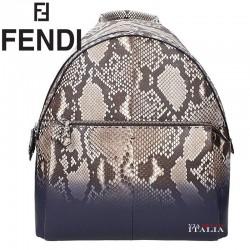FENDI - ZAINO FENDI UOMO - PELLE PITONE (7VZ01274K)
