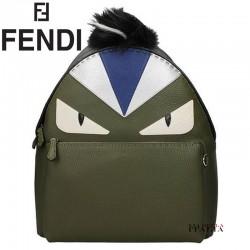 【FENDI】パイソンレザー バックパック (7VZ01274K)