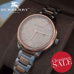 【BURBERRY】 The Classic Round BU10117 32 mm