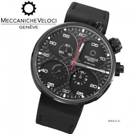 【MECCANICHE VELOCI】QuattroValvole 44 - Chronograph Carbon