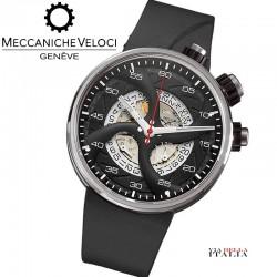 【MECCANICHE VELOCI】QuattroValvole 44 - Chronograph Titanium
