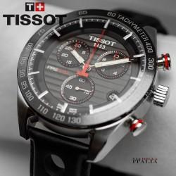 【TISSOT】TISSOT PRS 516 クロノグラフ T100.417.16.051.00