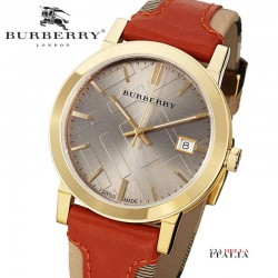 【BURBERRY】The City BU9016 Unisex Watch 38mm