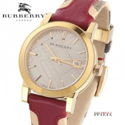 【BURBERRY】 BU9017 The City Unisex Watch 38mm