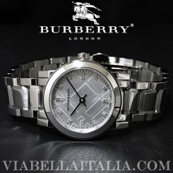 【BURBERRY】THE CITY Diamond Accent Bracelet Ladies Watch BU9213 26mm
