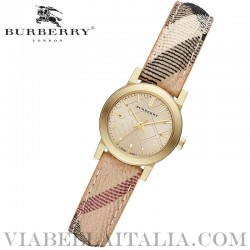 【BURBERRY】 Gold Ion Plated Ladies Watch BU9219 26mm