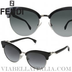 【FENDI】FF0229S-8079O-55-Ladies Sunglasses