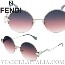 【FENDI】FF 0243-S Fendi Pink Gradient - Sunglasses