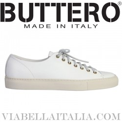 BUTTERO - SUEDE LEATHER CARRERA SNEAKERS
