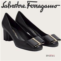 Salvatore Ferragamo - OVERSIZE BOW PUMP SHOE