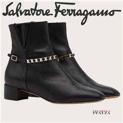Salvatore Ferragamo - VARA CHAIN ANKLE BOOT