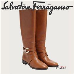 Salvatore Ferragamo - GANCINI BOOT
