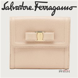 Salvatore Ferragamo - VARA BOW FRENCH WALLET