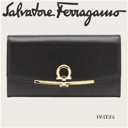 Salvatore Ferragamo - GANCINI CONTINENTAL WALLET