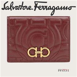Salvatore Ferragamo - QUILTED GANCINI CREDIT CARD HOLDER