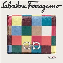 Salvatore Ferragamo - GANCINI COMPACT WALLET