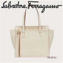 Salvatore Ferragamo - DOUBLE HANDLE BAG MEDIUM