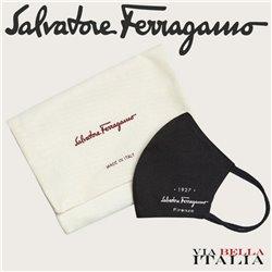SALVATORE FERRAGAMO - 927 SIGNATURE FACE MASK - SIZE L