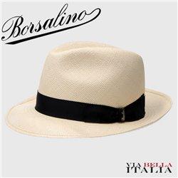 """BORSALINO - """"DIARIO"""" MEDIUM BRIM QUITO PANAMA"""