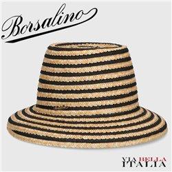 """BORSALINO - """"CLOCHE"""" WOVEN STRAW"""