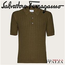 Salvatore Ferragamo - JACQUARD POLO