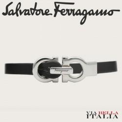 Salvatore Ferragamo - BRACCIALETTO CON CHIUSURA GANCINI