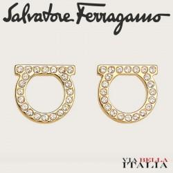 SALVATORE FERRAGAMO -GANCINI EARRINGS