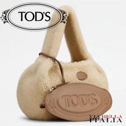 【TOD'S】SHIRT HOBO BAG IN MONTONE PICCOLA