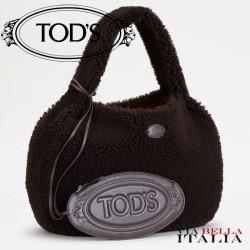 【TOD'S】シャツ バッグ ホーボー スモール